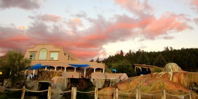 Soaking In Pagosa Springs