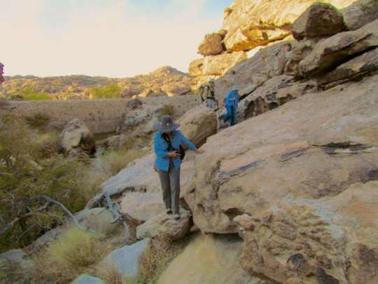 Navigating Boulders