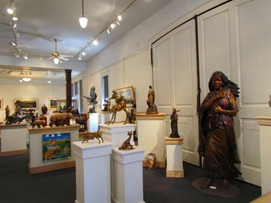 Gallery Of Bronze Work