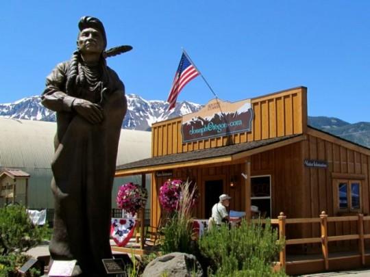 Chief Joseph Bronze