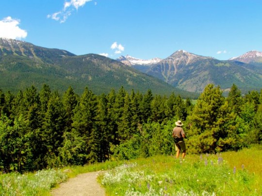 Hiking The Moraine
