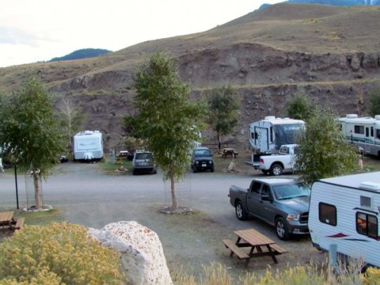 Yellowstone RV Park, Gardiner