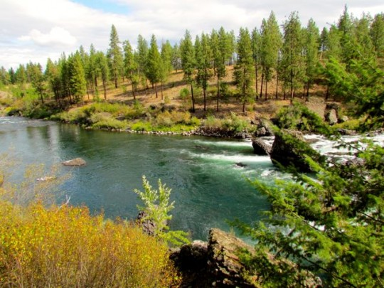 Spokane River Hike