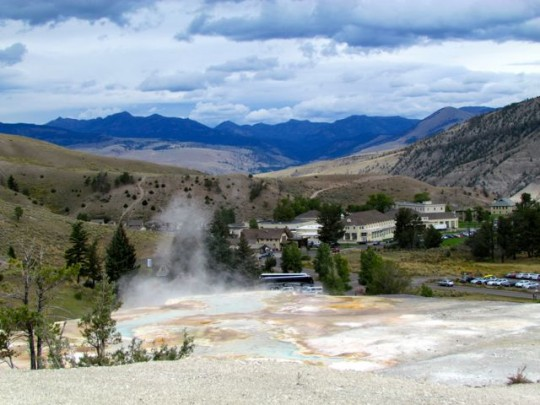Mammoth Hot Springs Village