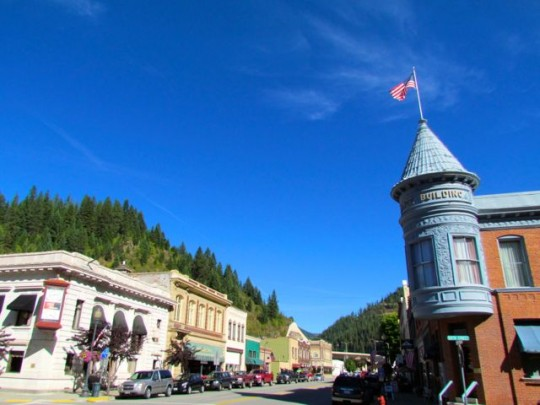 Downtown Wallace, ID