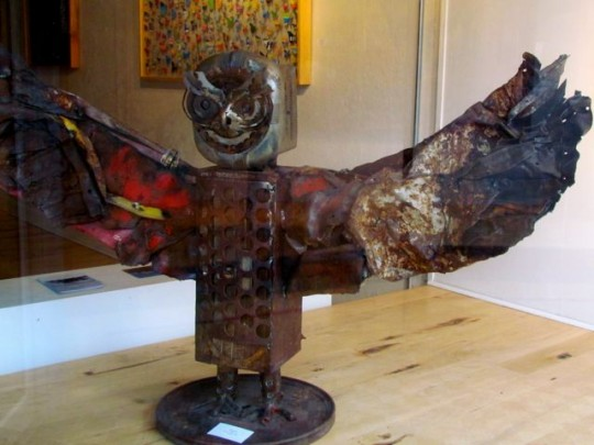 Owl In Bozeman Art Gallery
