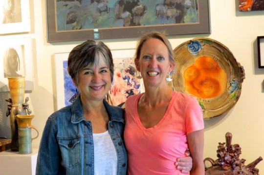 With Kimberly In Her Studio:Home