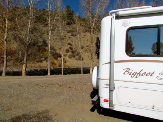 Campsite On The River Pagosa Springs