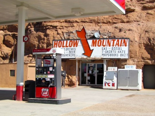Gas Station In The Mountain