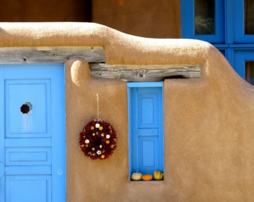 Taos Turquoise And Adobe