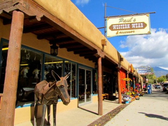 On The Plaza In Taos