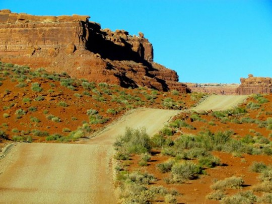 Road Through Valley Of The Gods II