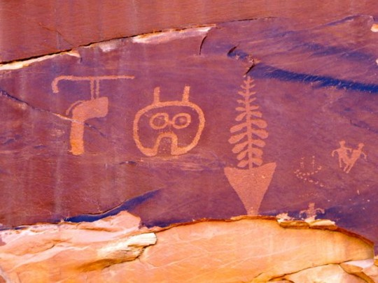 Owl And Other Petroglyphs