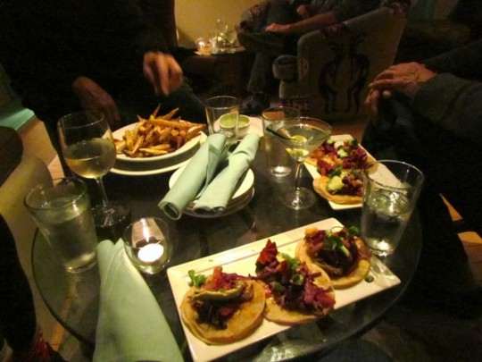 Delicious Tacos At The Treehouse
