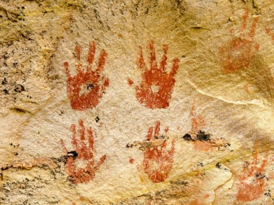 Handprint Pictographs