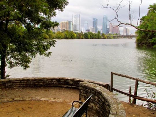 Austin Skyline From Zilker Park