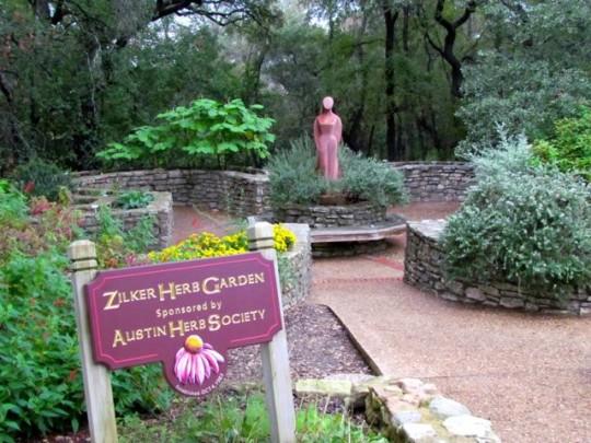 Herb Garden Zilker Park
