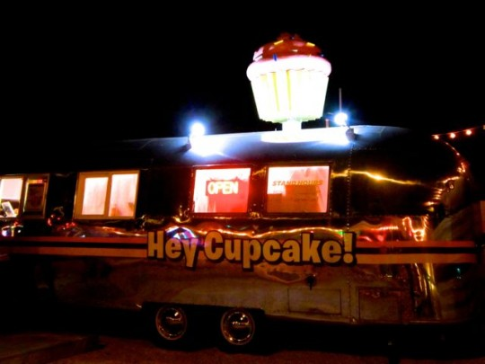 Airstream Turned Cupcake Wagon