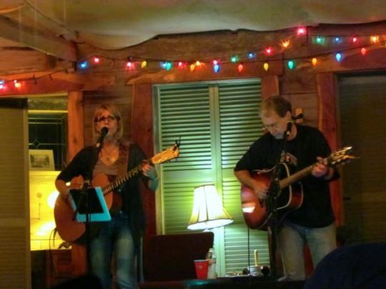 Musicians At Frog Pond