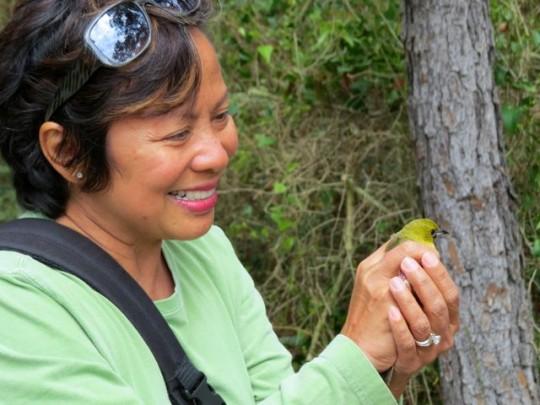 MonaLiza And Her Bird