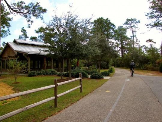 Biking Trail At Gulf State Park