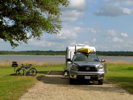 Lake Somerville COE Campground