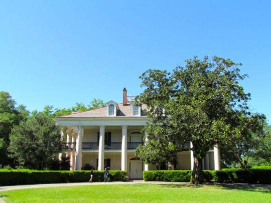 The Front Of The Plantation House