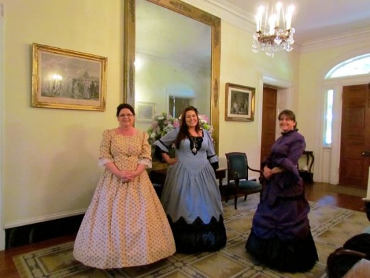 Docents In Full Costume