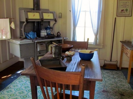 Kitchen Of Boyhood Home