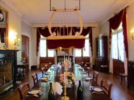 The Dining Room And Fan