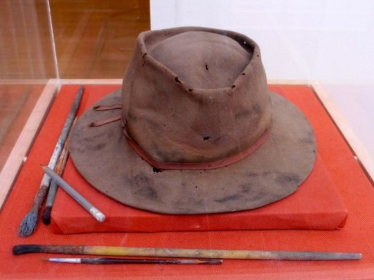 Anderson's Hat And Paintbrushes