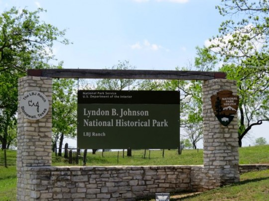Entrance To LBJ Ranch