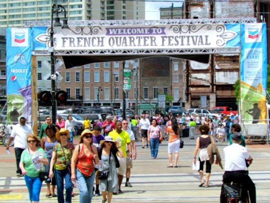 Welcome To The French Quarter Festival