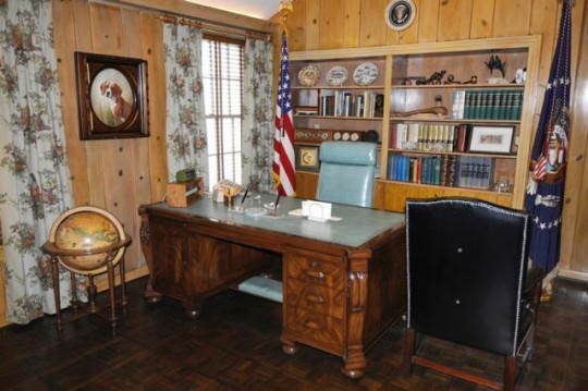 LBJ's Office At Texas White House