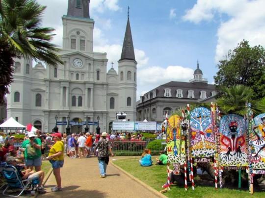 Festival In Jackson Square