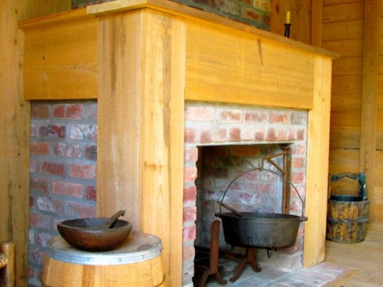 The Hearth Of A Slave Cabin