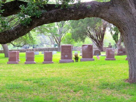 LBJ And LadyBird's Final Resting Place