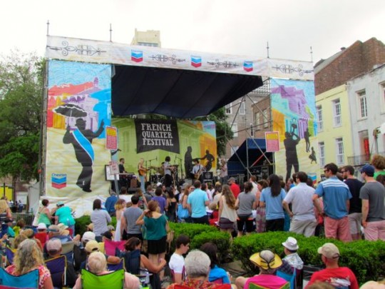 Zydeco Festival Stage