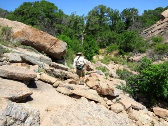 Boulder Strewn Path