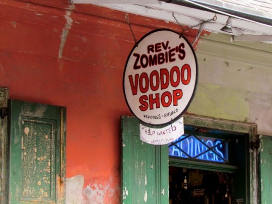 Job Opportunity At The Voodoo Shop