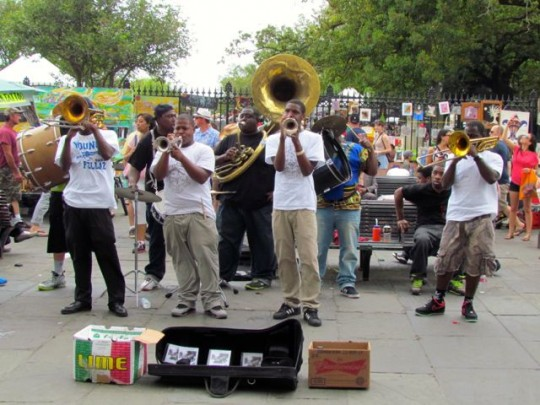 Brass Band In Jackson Square