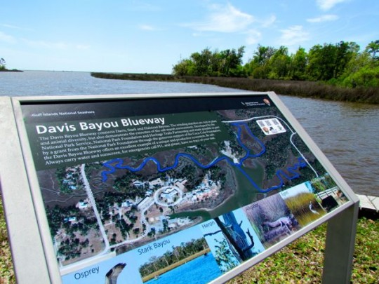 Davis Bayou Kayak Trails
