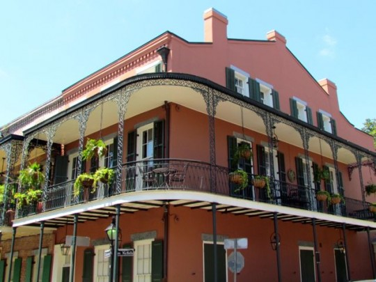 Classic French Quarter Architecture
