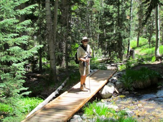 Crossing Baker Creek