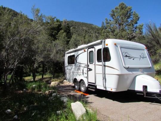 Campsite Upper Lehman Creek