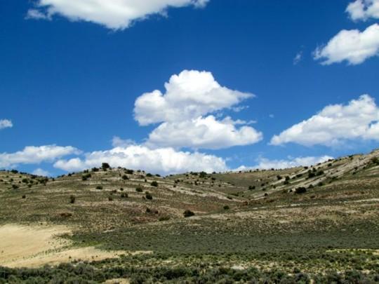 Landscape Along Hwy 50