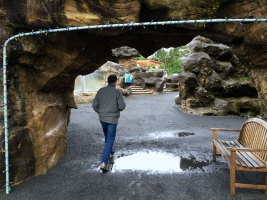 Outdoor Exhibits At The Aquarium