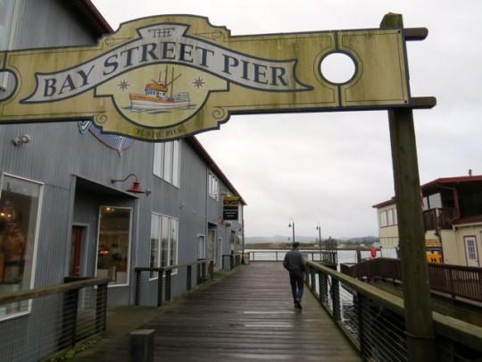 Strolling The Bay Street Pier