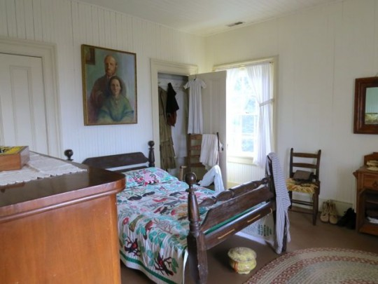The Lightkeeper's Bedroom