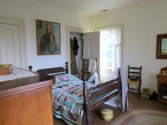 The Lightkeeper's Bedroom